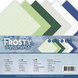 Jeanines Art Frosty Ornaments kartonkipakkaus, A5
