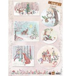 Marianne Design korttikuvat Els Forest Dream