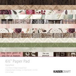 Kaisercraft paperikko Gypsy Rose