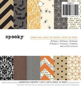 American Crafts paperipakkaus Spooky