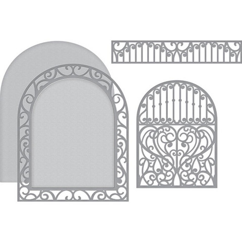 Spellbinders Ornamental Arch -stanssisetti