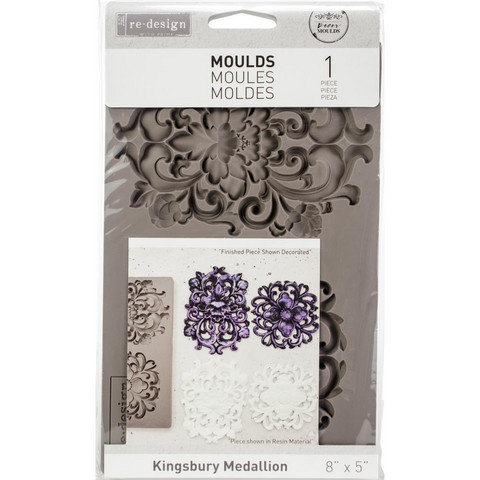 Prima Re-Design Decor Mould -muotti Kingsbury Medallion
