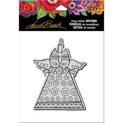 Stampendous Laurel Burch leimasin Feline Candle