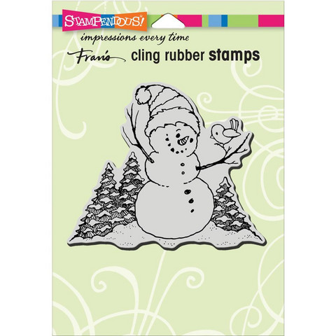 Stampendous leimasin Snowman Perch