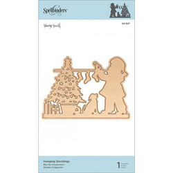 Spellbinders Hanging Stockings -stanssi
