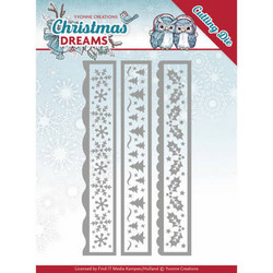 Yvonne Creations Christmas Dreams stanssisetti Christmas Borders