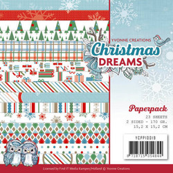 Yvonne Creations paperipakkaus Christmas Dreams