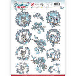 Yvonne Design Christmas Dreams 3D-kuvat Christmas Animals