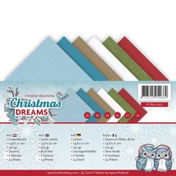 Yvonne Creations Christmas Dreams kartonkipakkaus, A5