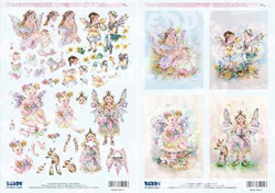 Reddy Christine Hawarth 3D-kuvat Fairy Poppets