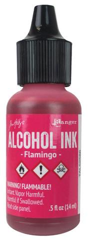 Tim Holtz alkoholimuste, sävy Flamingo
