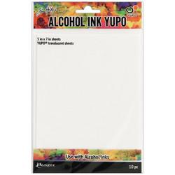 Tim Holtz Alcohol Ink Translucent Yupo -paperi, muovipaperi, 5