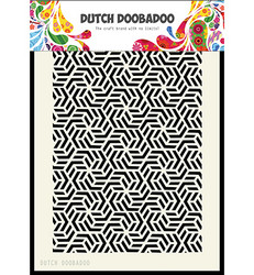 Dutch Duubadoo Geometric -maski