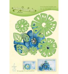 Leane Creatief Fantasy Flower 014 -stanssisetti