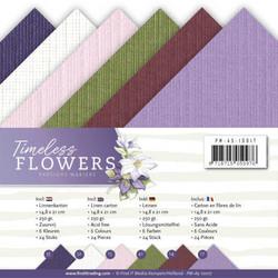 Precious Marieke Timeless Flowers kartonkipakkaus, A5