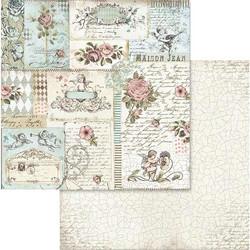 Stamperia skräppipaperi Rose & Angels