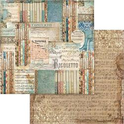 Stamperia skräppipaperi Rigoletto