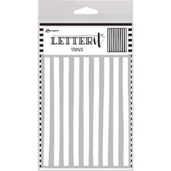 Ranger Letter It sapluuna Organic Stripes