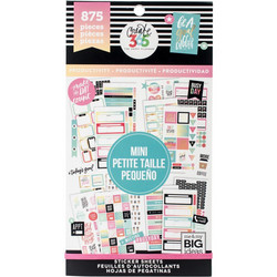 Mambi Happy Planner Value Pack -tarrapakkaus Productivity, MINI
