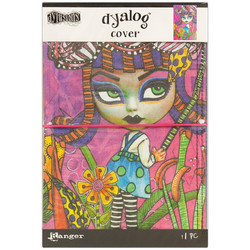Dylusions Dyalog Canvas Printed Cover Believe, kannet