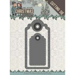 Amy Design Christmas Wishes stanssisetti Wishing Labels