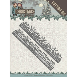 Amy Design Christmas Wishes stanssisetti Snowflake Borders