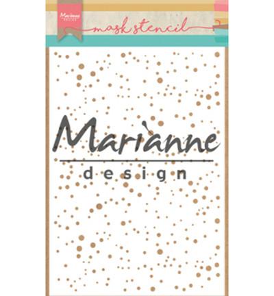 Marianne Design sapluuna Snow Flakes