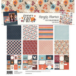 Simple Stories Forever Fall Collection Kit -paperipakkaus
