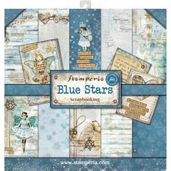 Stamperia paperipakkaus Blue Stars, 12