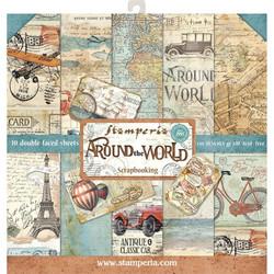 Stamperia paperipakkaus Around The World, 12