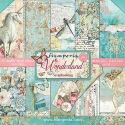Stamperia paperipakkaus Wonderland, 12