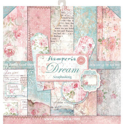 Stamperia paperipakkaus Dream, 12