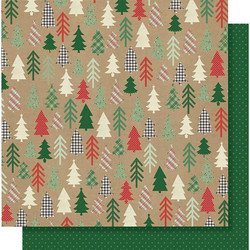 Simple Stories Merry & Bright skräppipaperi Hello December