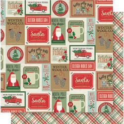 Simple Stories Merry & Bright skräppipaperi Celebrate The Season