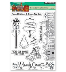 Penny Black Hometown Christmas leimasinsetti