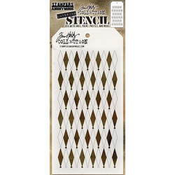 Tim Holtz Shifter Diamond -sapluuna