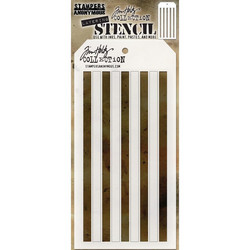 Tim Holtz Shifter Stripes -sapluuna