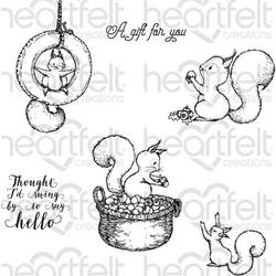 Heartfelt Creations Furry-Tailed Frolic -leimasinsetti