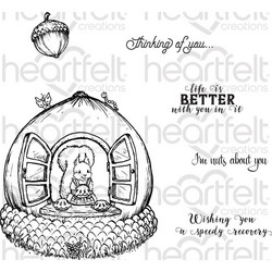 Heartfelt Creations Oakberry Cottage & Sentiments -leimasinsetti
