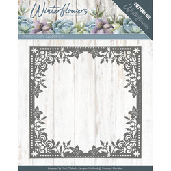 Precious Marieke Winter Flowers stanssi Ice Flower Frame