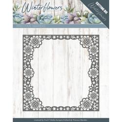 Precious Marieke Winter Flowers stanssi Snowflake Flower Frame