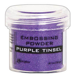 Ranger Embossing Powder -kohojauhe, sävy Purple Tinsel