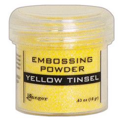 Ranger Embossing Powder -kohojauhe, sävy Yellow Tinsel