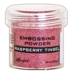 Ranger Embossing Powder -kohojauhe, sävy Raspberry Tinsel