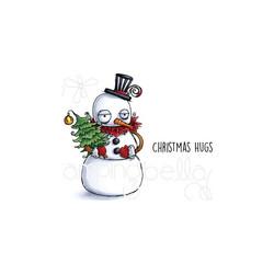 Stamping Bella kumileimasin Oddball Snowman