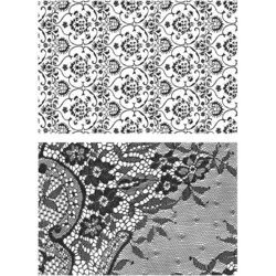 Stampers Anonymous, Tim Holtz leimasinsetti Ornate & Lace