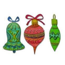 Sizzix Thinlits stanssisetti Whimsy Decor