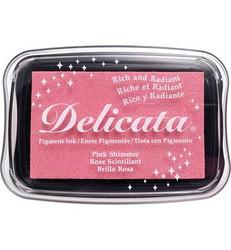 Tsukineko Delicata Pink Shimmer mustetyyny