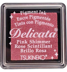 Tsukineko Delicata Pink Shimmer mustetyyny, pieni