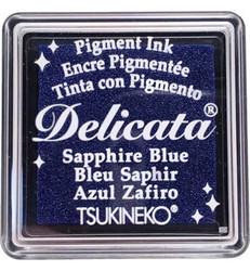 Tsukineko Delicata Sapphire Blue mustetyyny, pieni